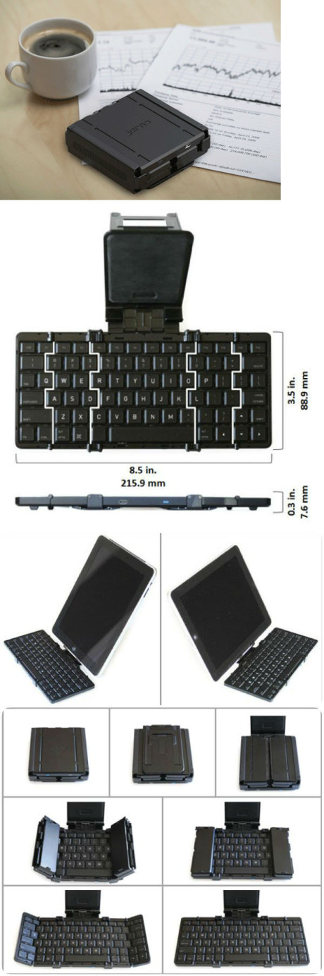 Pocket folding keyboard
