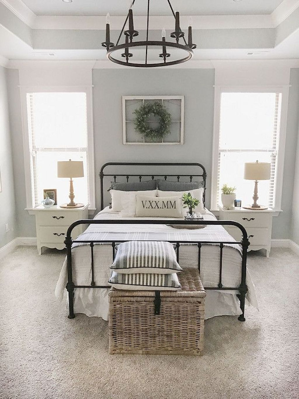 Best 61 Beautiful Farmhouse Master Bedroom Ideas In 2020 Home 400 x 300