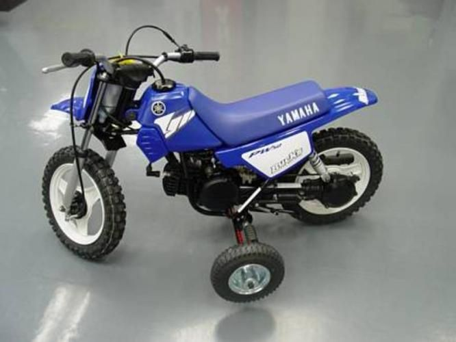 Pw 50 With Training Wheels Conways Bday Present Bike Toys For