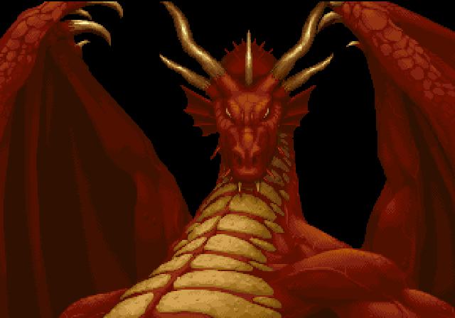 Dungeons Dragons Collection Sega Saturn Intro Shadow Over Mystara Fantasy Dragon Animated Dragon Fire Breathing Dragon