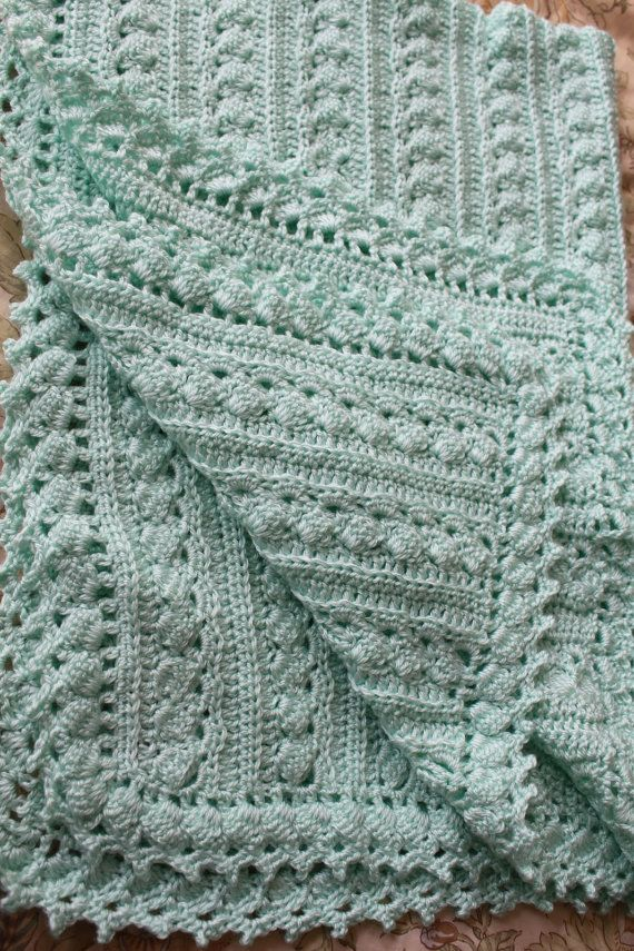Handmade Baby Blanket Crochet 2 Sizes Cable Design Super Etsy Baby Blanket Crochet Crochet Baby Handmade Baby Blankets