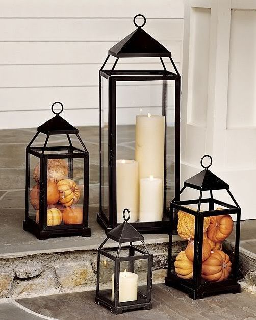 Outdoor Lanterns Decors Dle Destek Com In 2020 Fall Outdoor Decor Fall Decorations Porch Fall Home Decor