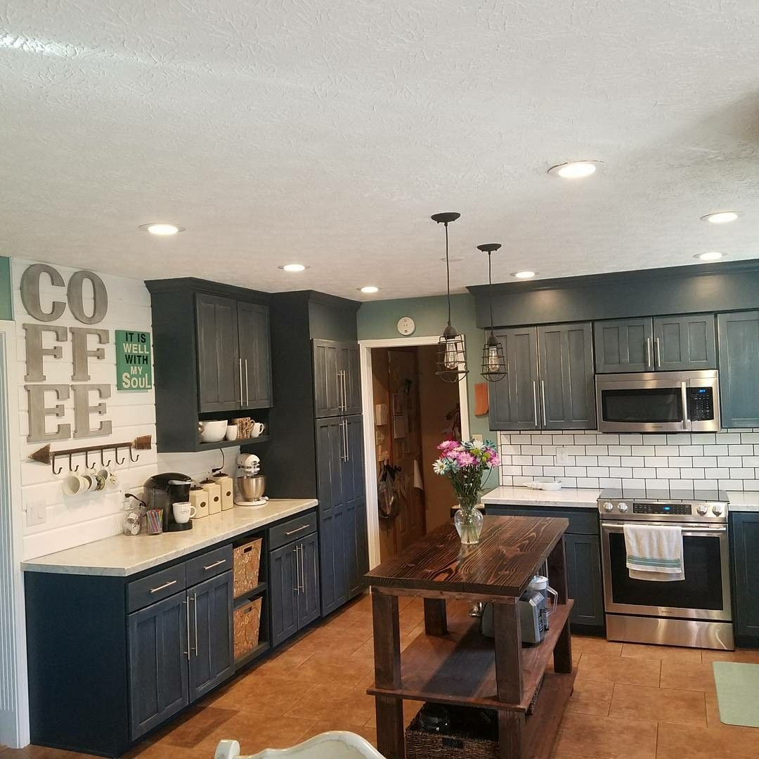Best Before After Kitchen Remodel Gray Cabinets Diy Subway 400 x 300