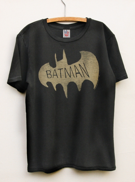 feb91573 Junk Food Clothing - Toddler's Boys Tops - Short Sleeve - Toddler Boys  Batman Vintage Inspired Solid Tee