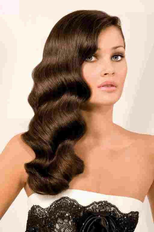 Elegant waves | Wedding hairstyles | Vintage hairstyles for ...