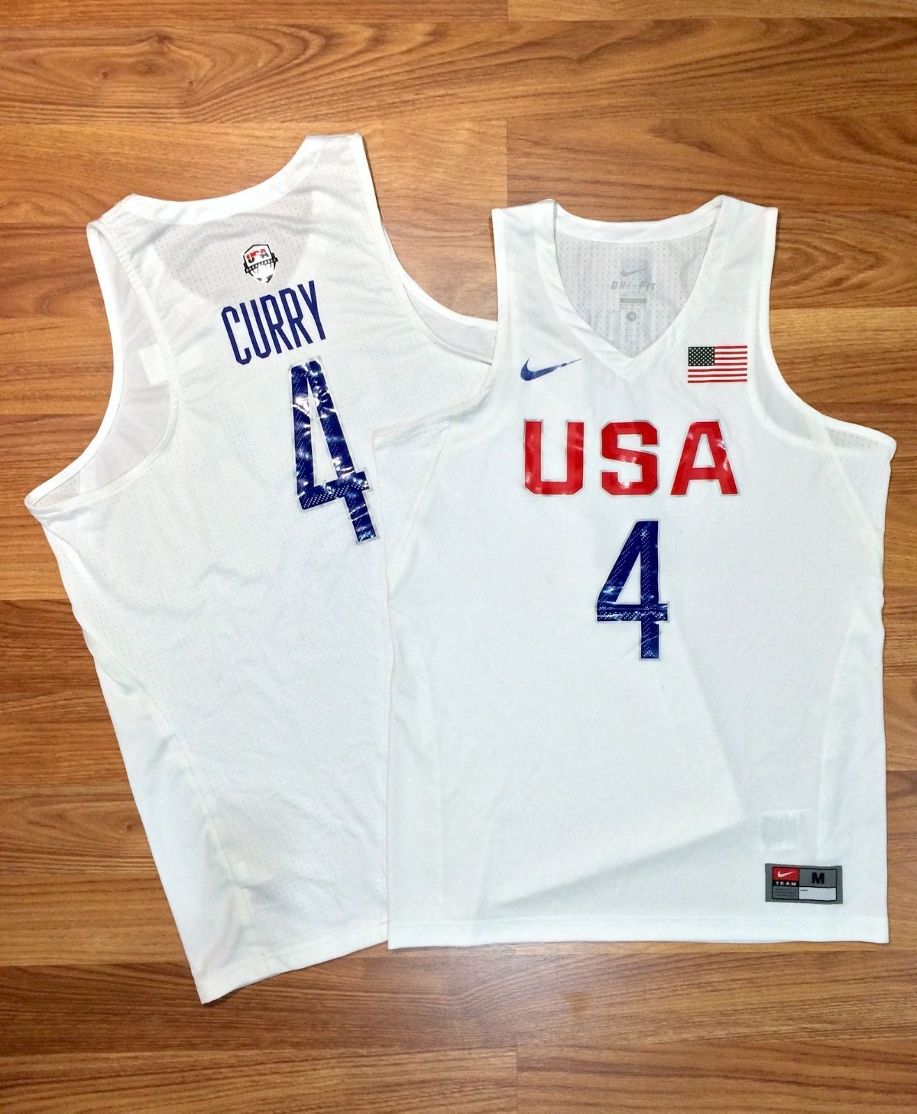 factory price 37243 1e9fe Steph Curry USA Basketball Jersey Beijing Olympics 2016 Nike ...