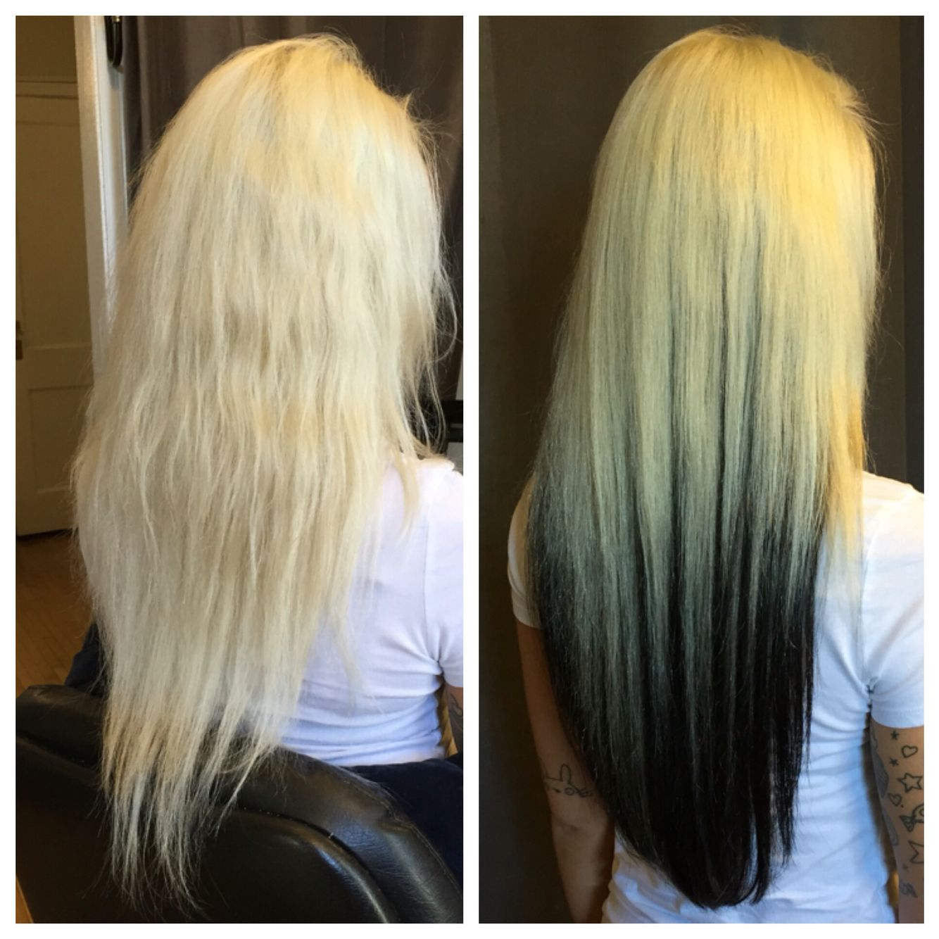 Before And After Westcoasthair Hairextensions 711 W Lake St