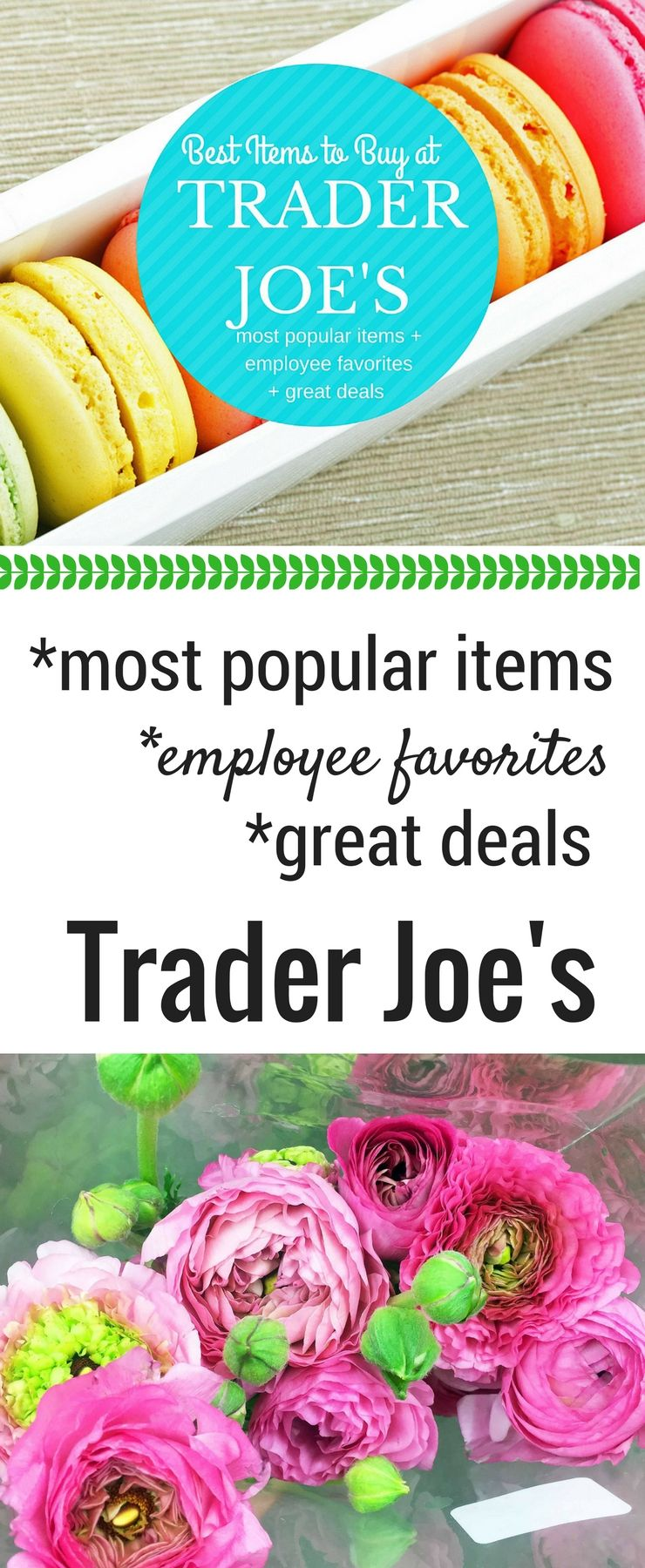 Best items to buy at trader joes the list includes the