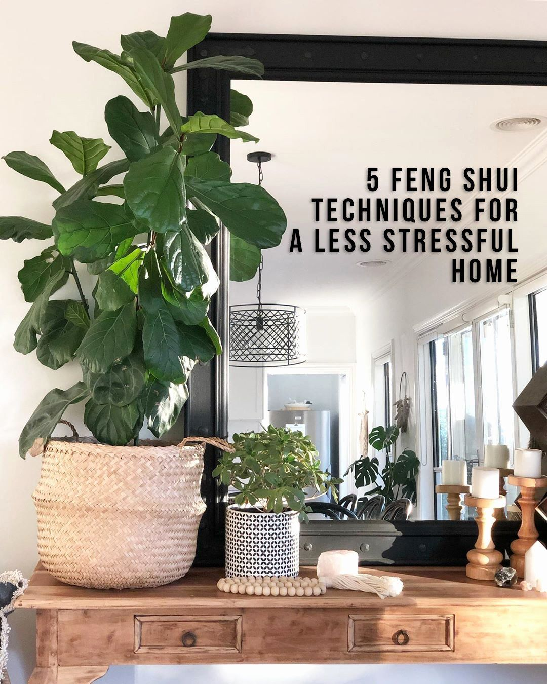 Feng Shui Plants In Living Room Awesome 5 Feng Shui Techniques For A Less Stressful Home In 2020 Feng Shui Bedroom Feng Shui House Feng Shui Plants #plants #in #living #room #feng #shui
