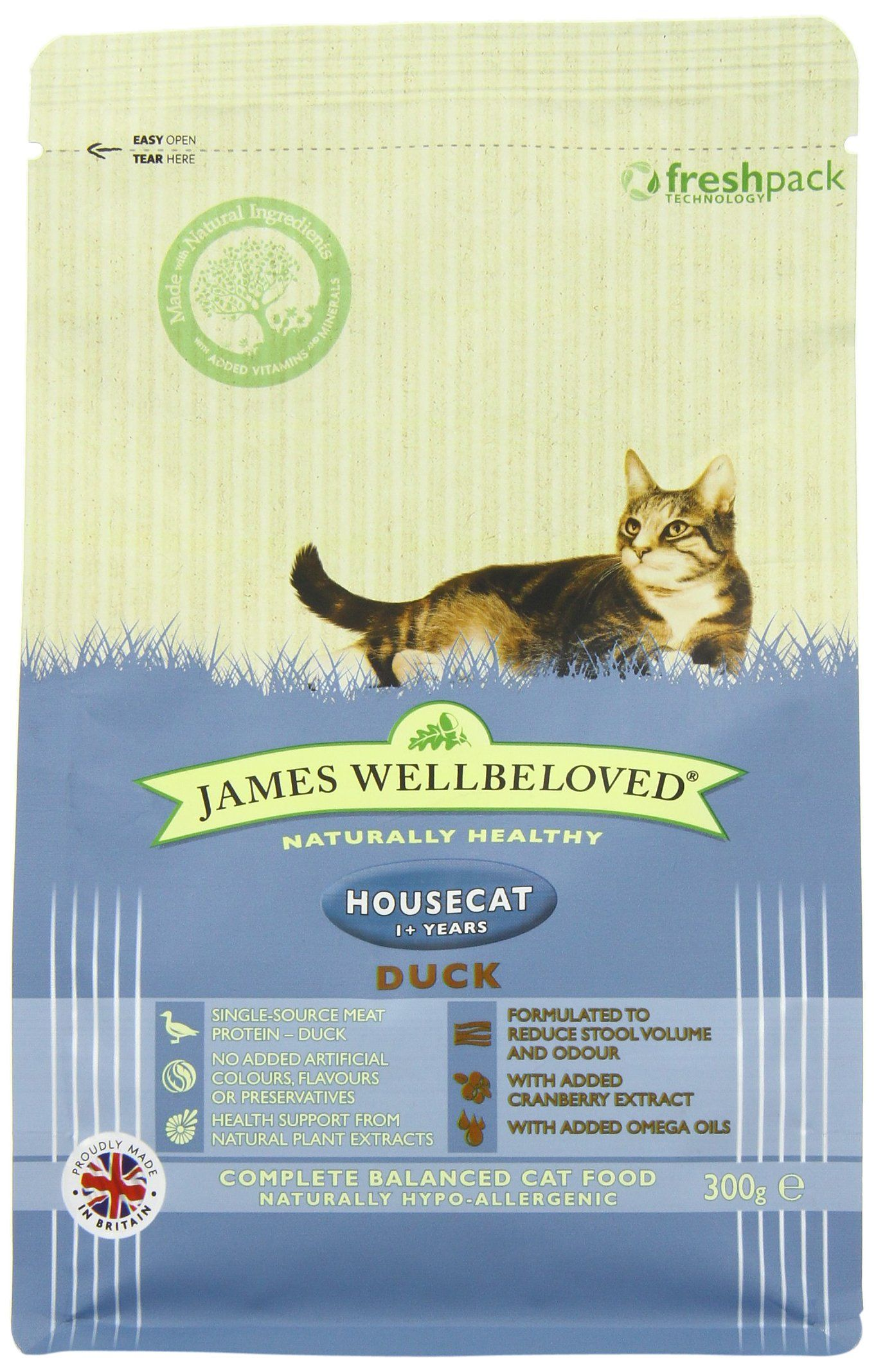 James Wellbeloved Duck And Rice House Cat Dry Cat Food 300 G Click On The Image For Additional Details This Is An Affiliate Li Cat Food Dry Cat Food Cats