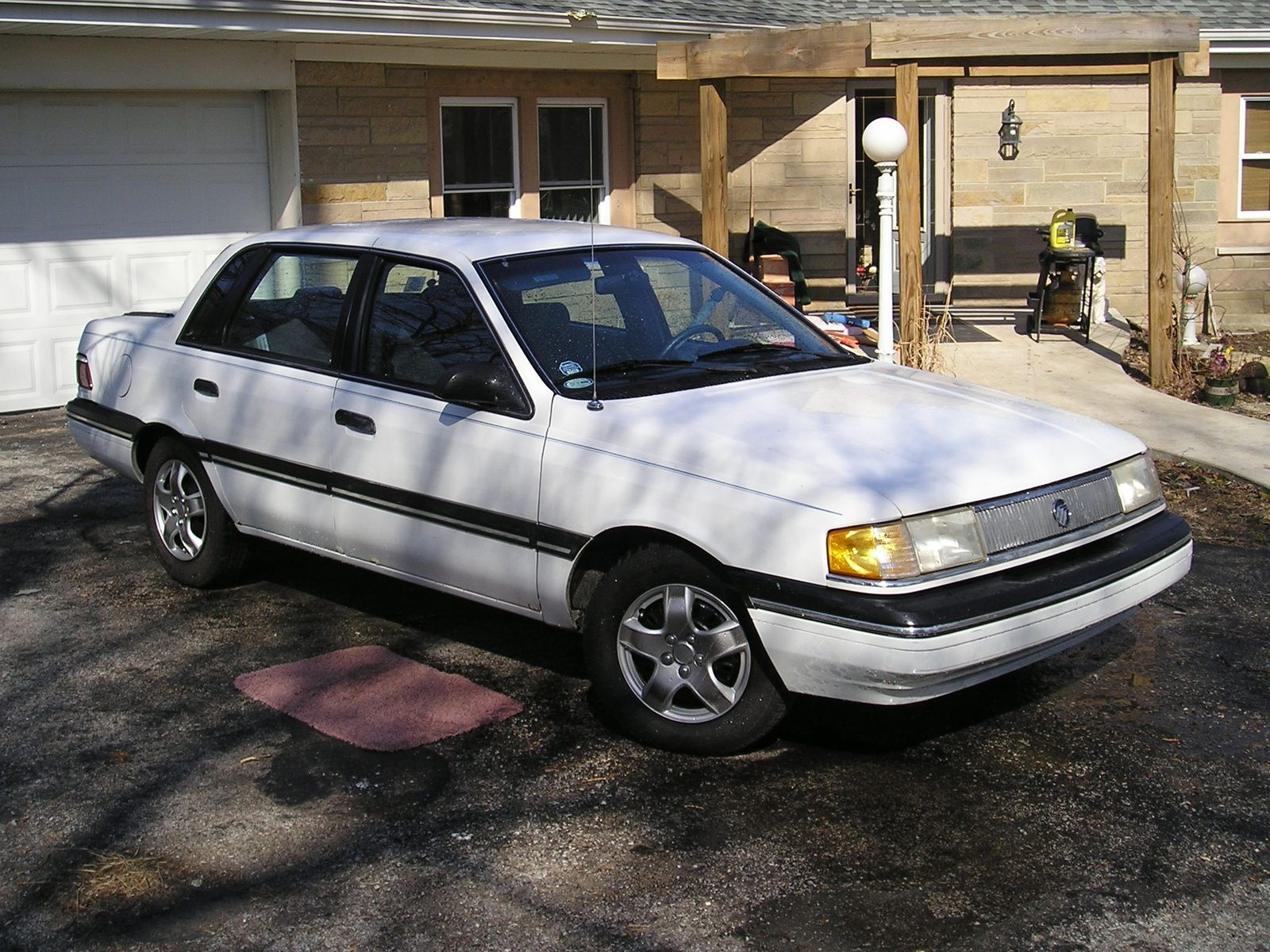 1990 Mercury Topaz 4 Dr Gs Sedan Picture Exterior Sedan
