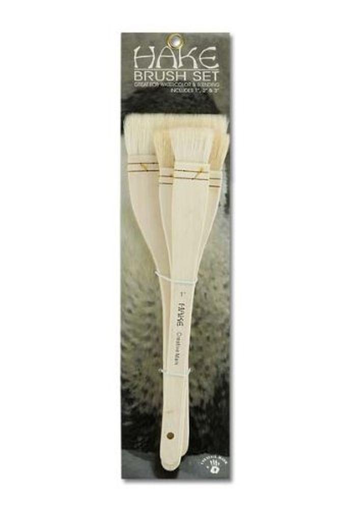 Chinese Hake Brushes Pack of 3 Royal Brush RART-115 Langnickel Large Area Brush Set