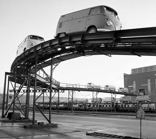 f7ba611154 Hannover factory Volkswagen T1