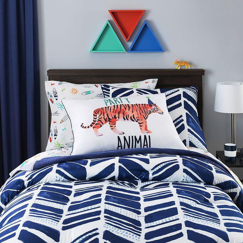 Frank And Lulu Shane Stripes Comforter Set Comforter Sets