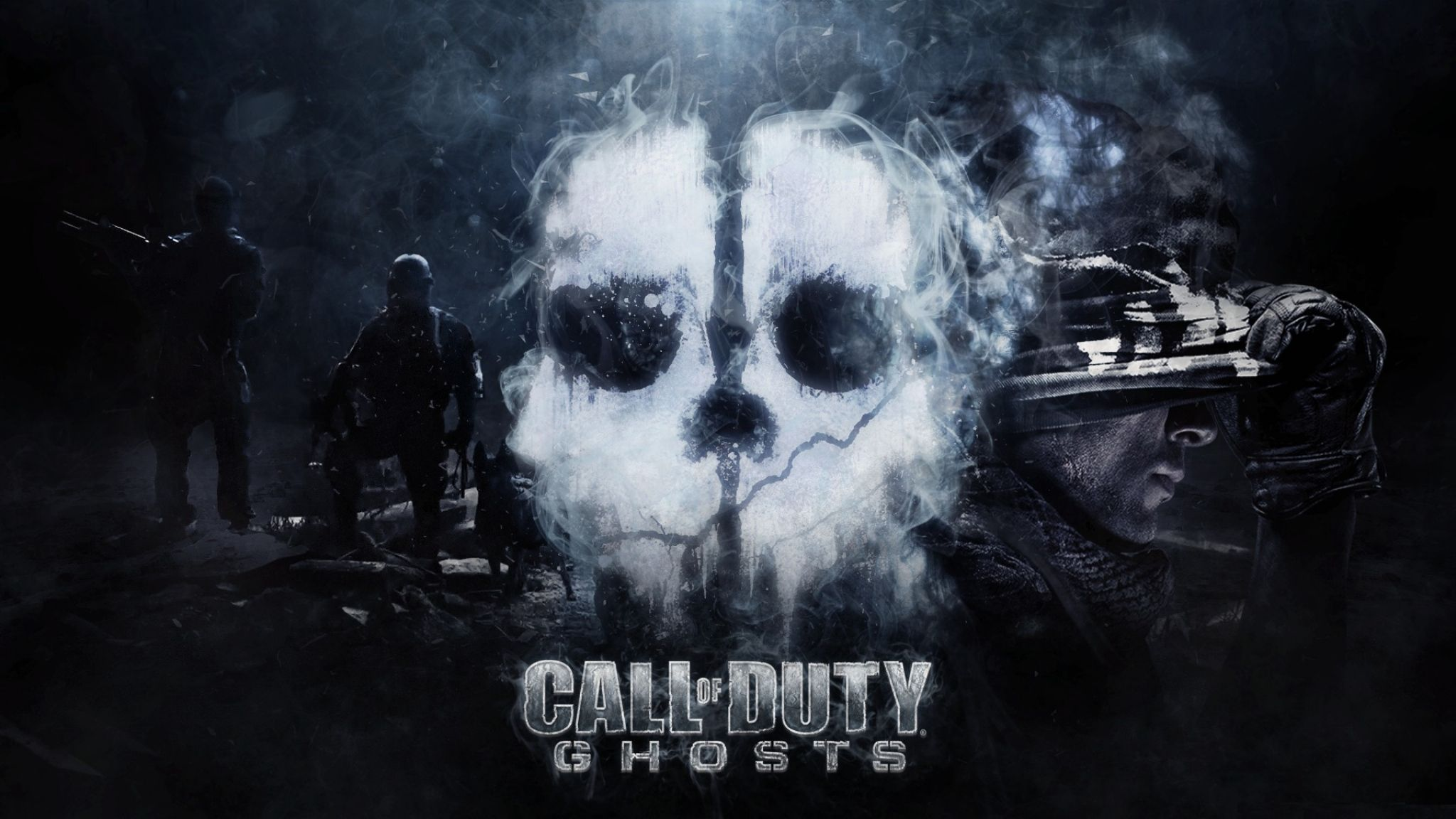 Download Wallpaper 2048x1152 Call Of Duty Ghosts Cod Ghost Call Of Duty Ghosts Call Of Duty Call Of Duty Zombies