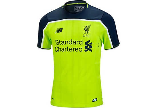 2016/17 New Balance Authentic Liverpool 3rd Jersey. Available from www.soccerpro.com | Liverpool ...