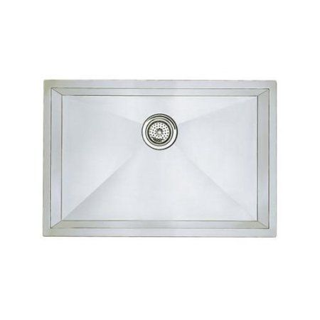 Blanco 515819 Precision 18 Inch X 25 Inch Single Basin Stainless