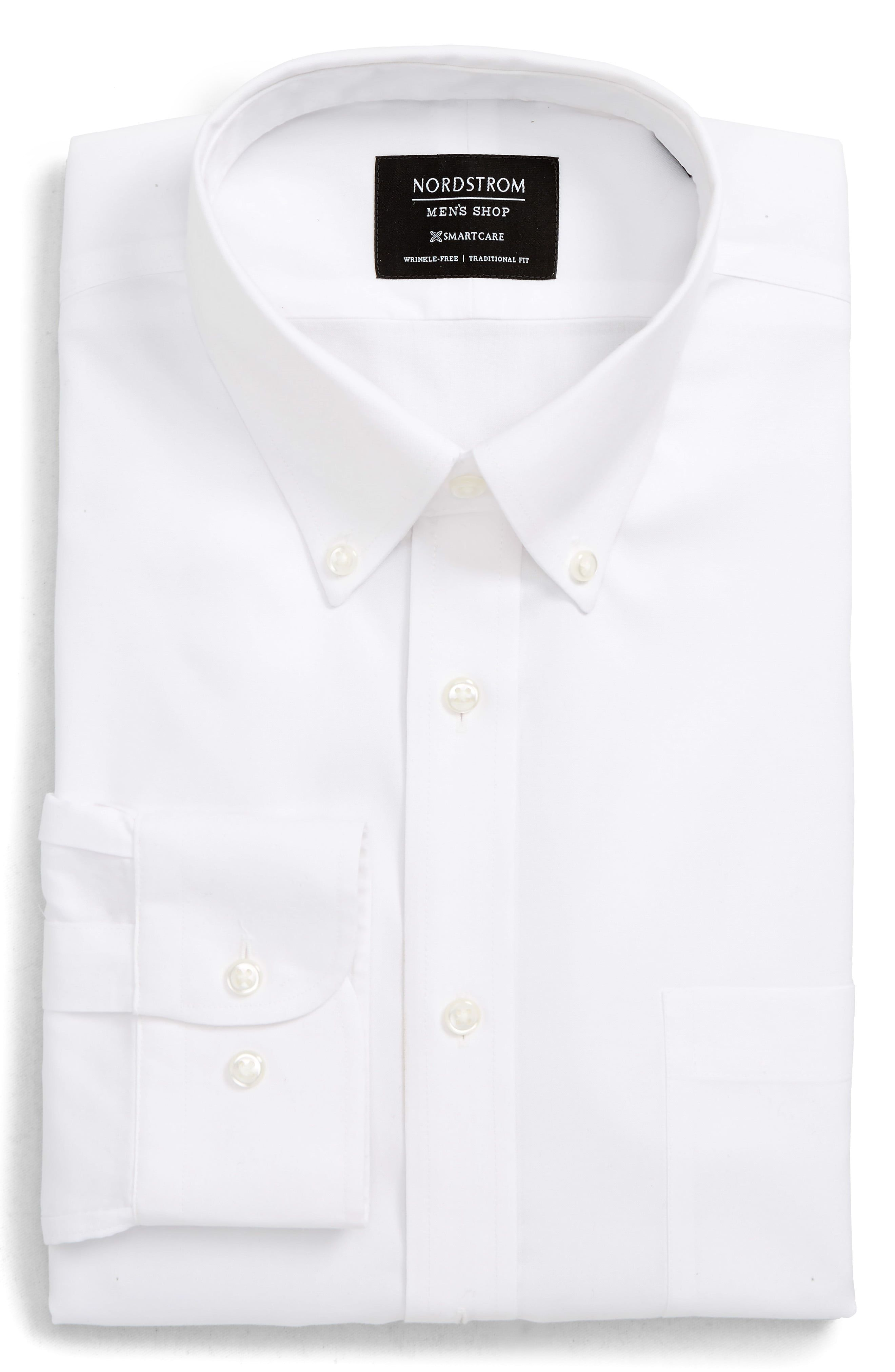 white button up shirt for men