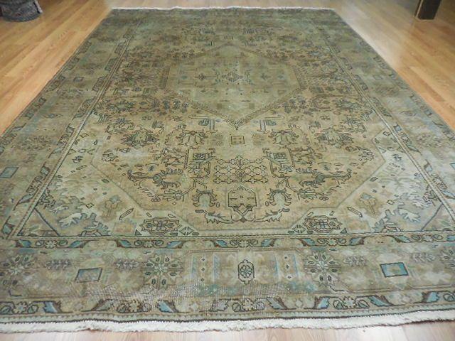 Ca1880 Vg Dy Antique Persian Karache Serapi Heriz Viss 8x11 Estate Sale Rug Persian Heriz Rugs Antique Rugs Rugs