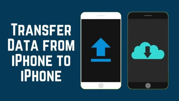 How to transfer data from iPhone to iPhone without iTunes