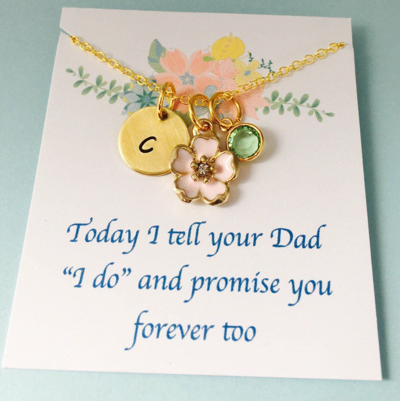 Stepdaughter Necklace Stepdaughter Wedding Gift Sell Any Kind