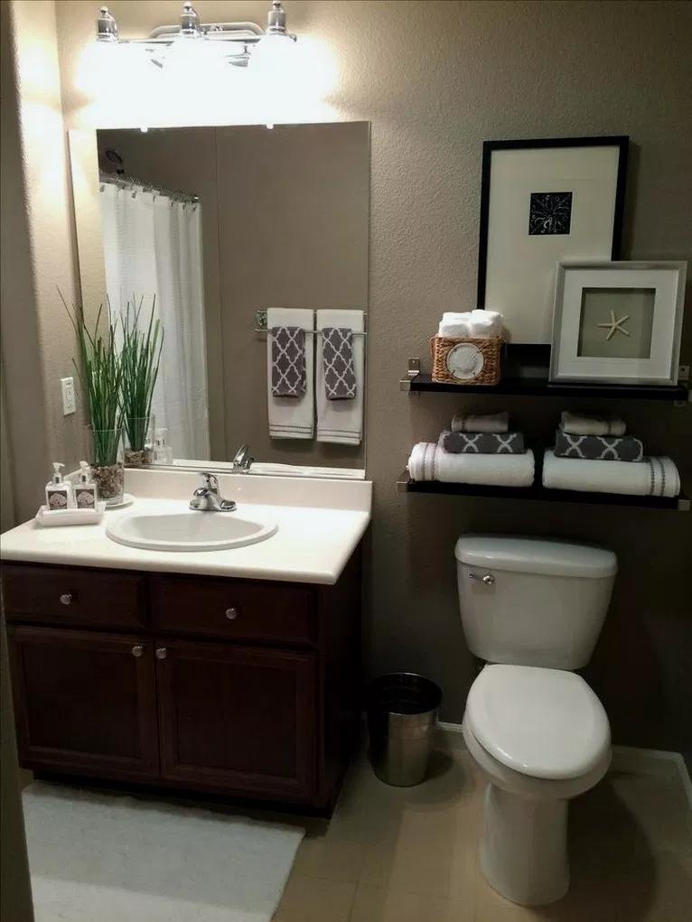 29+ Most Popular Small Bathroom Design On a Budget # ...