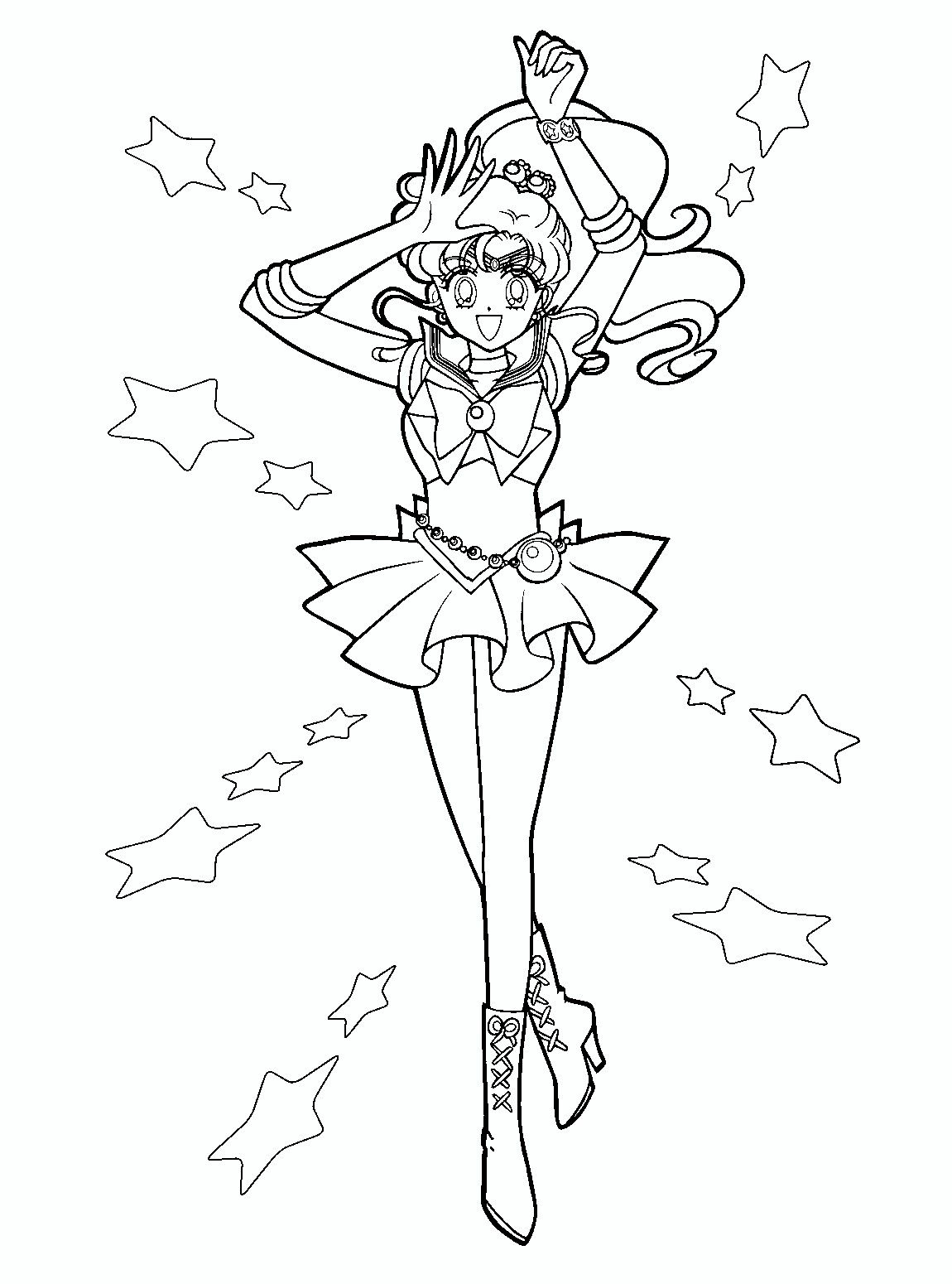 Pin by Hal Hensley on Anime, Asian Art & Manga Coloring Pages ...