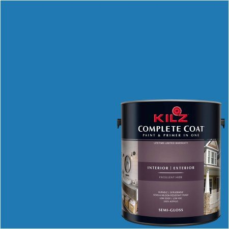 Kilz Complete Coat Interior/Exterior Paint & Primer in One, #RH190 Aspiration