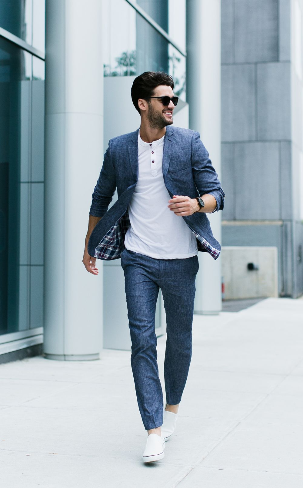Looking for a summer suit? Go linen. | Men\'s Apparel | Pinterest ...