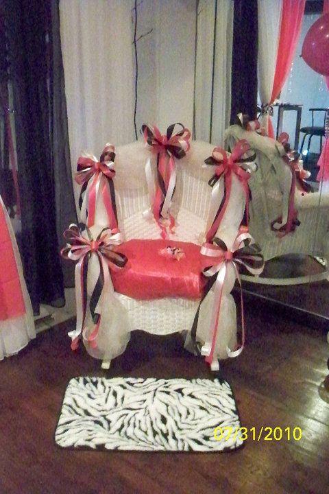 Baby Shower Chair Decor Baby Shower Chair Baby Shower Corsage