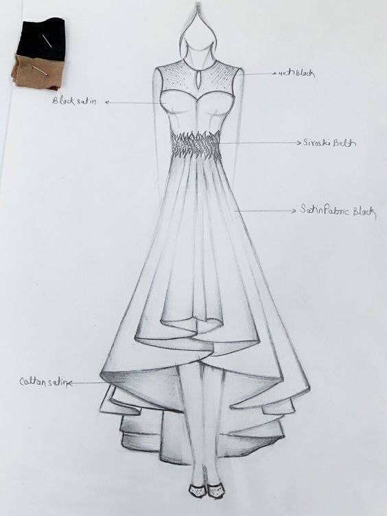 Https Www Youtube Com Watch V Csoo7bp592a Dress Design Drawing Fashion Illustration Sketches Dresses Fashion Sketches Dresses