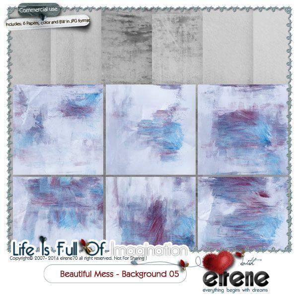 Beautiful Mess Background 05
