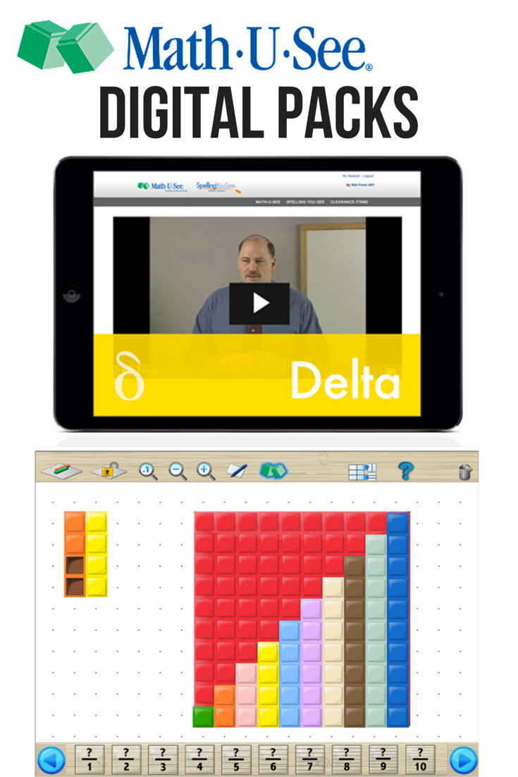 Math U See Review Now with Digital Resources! Math u