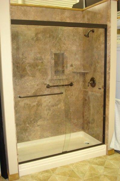 Unbelievable Shower Tub Wall Panels | Bathroom ideas | Pinterest ...