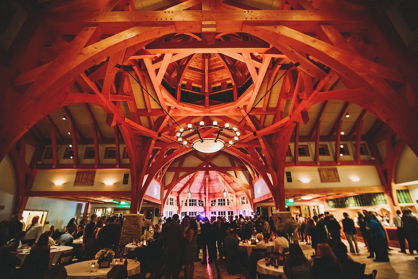 Wedding Reception At In The Great Hall At Sacred Oaks At Camp Lucy In Dripping Springs Photo By Twopairphoto Com Sacred Oaks Outdoor Wedding Venues Camp Lucy