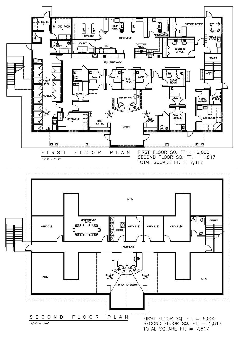 Veterinary Floor Plan Hilltop Animal Hospital Hospital Floor Plan Hospital Design Animal Hospital