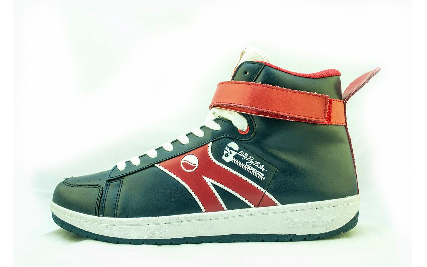 Billy Ray Bates Black Superman Shoes