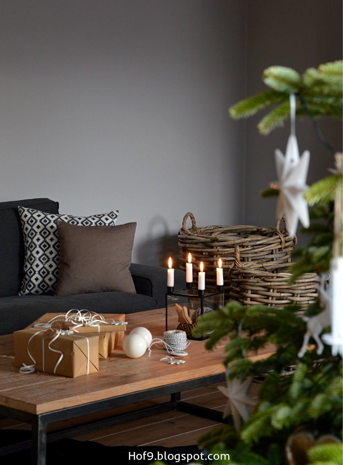 Weihnachtsdeko In Weiss Und Silber Weihnachtsbaum Mit Weissem Schmuck