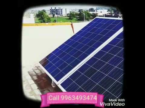 Check Out The New Video On My Channel One Kilowatt Off Grid Solar Plant Installation Https Youtube Com Watch V A8gno Plant Installation Off Grid Solar Solar