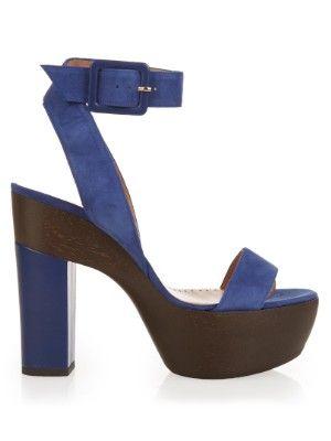Alexa Wagner Suede Platform Sandals store online kvv4qX