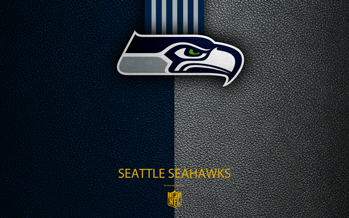Download wallpapers Seattle Seahawks, 4k, american