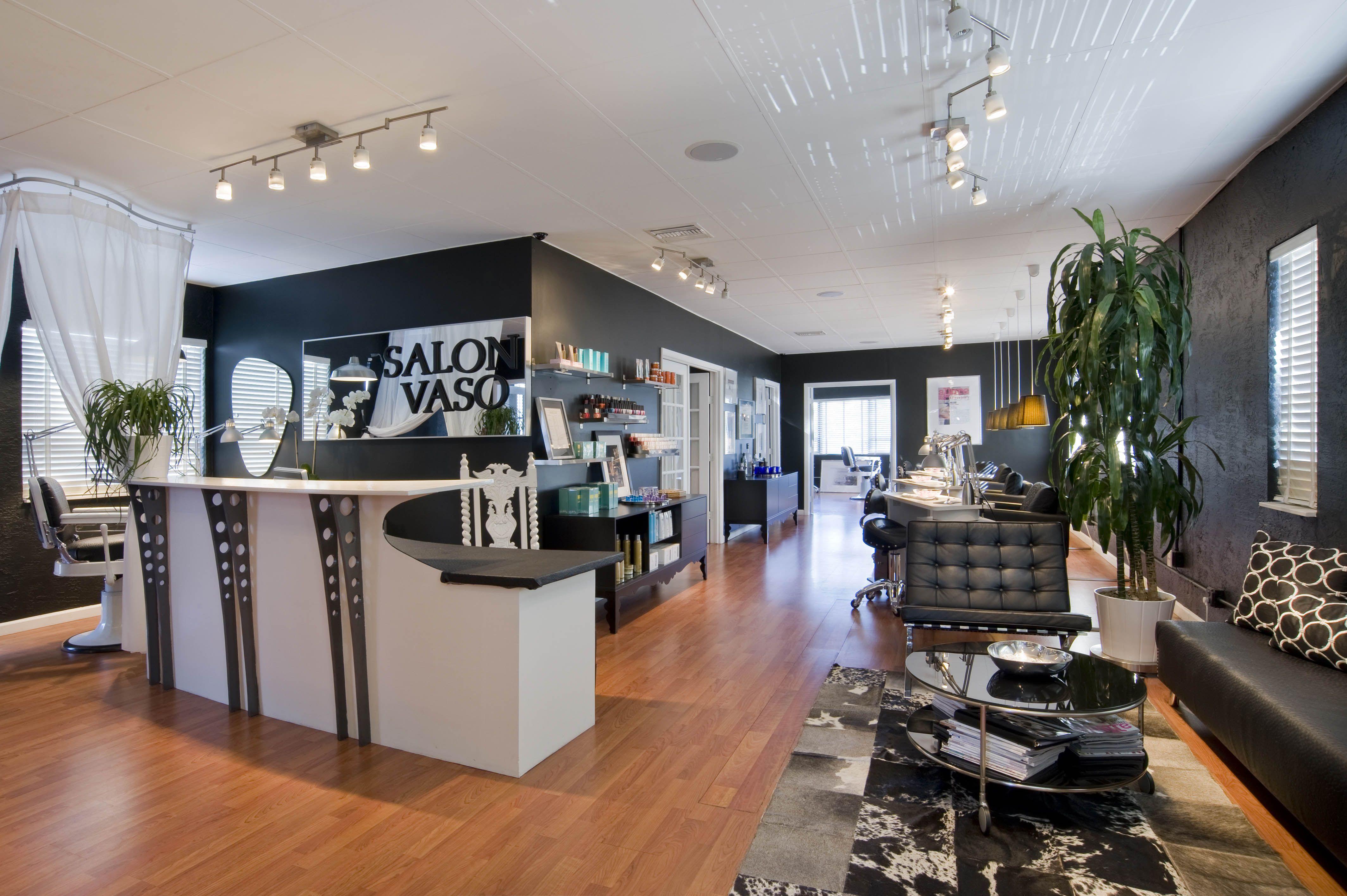 Our beautiful salon | Inside Salon Vaso | Pinterest | Deko ideen ...