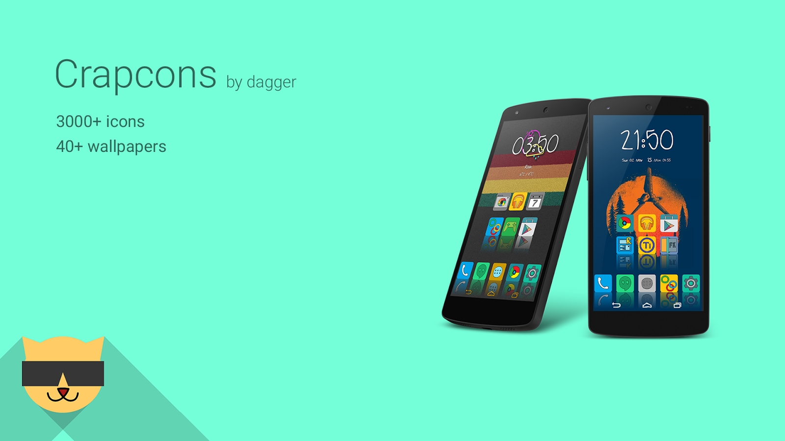 CrapCons Icon Pack v5.1.0 APK Icon pack, Icon, Packing