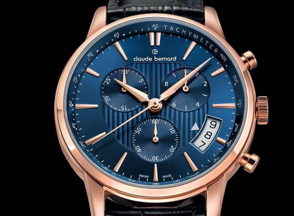 Claude Bernard Classic Chronograph Blue Edition by watchuseek