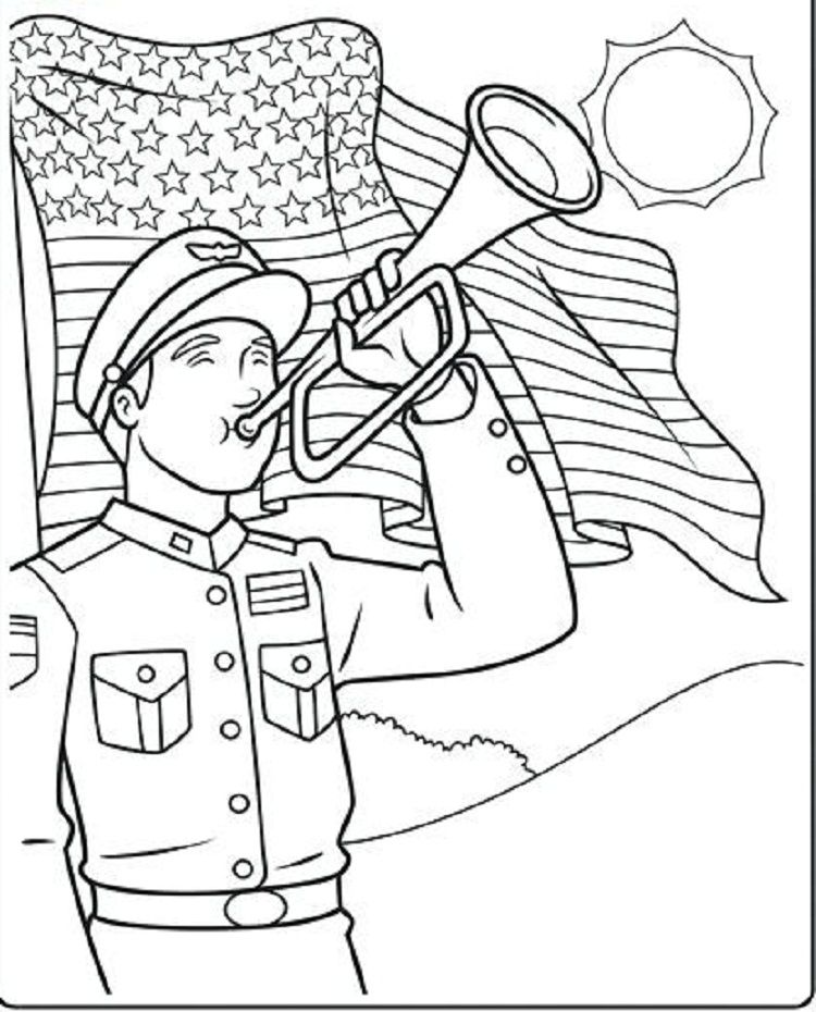 Memorial Day Coloring Pages Activities | New Coloring Pages | Pinterest