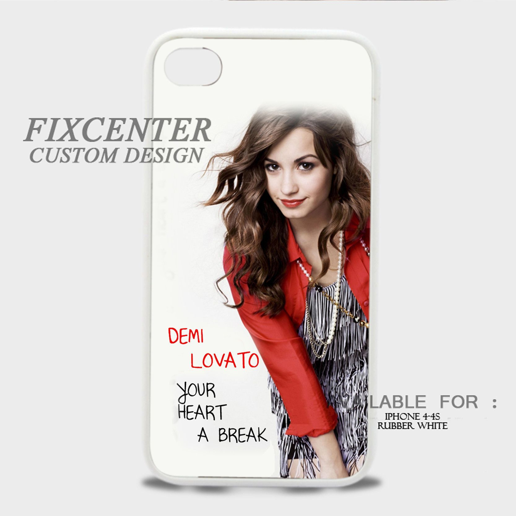 Demi Lovato Give Your Heart a Break Album - iPhone 4/4S Case