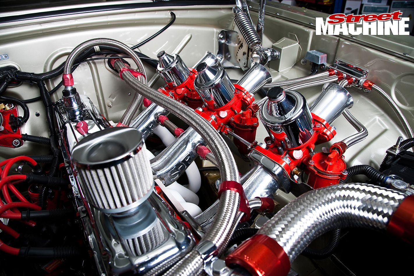 hr holden engine detail 4 engines holden muscle cars cars