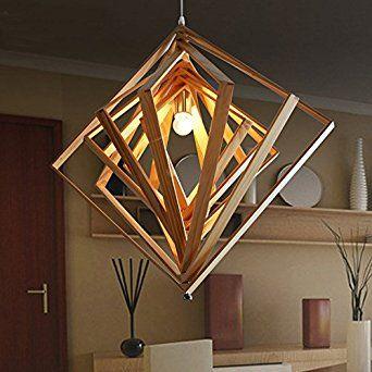 SJUN Moderne Koreanische Japanische Minimalistischen Kronleuchter Kreative  Holz Kronleuchter Wohnzimmer Esszimmer Schlafzimmer Solide Holz Led Lampen
