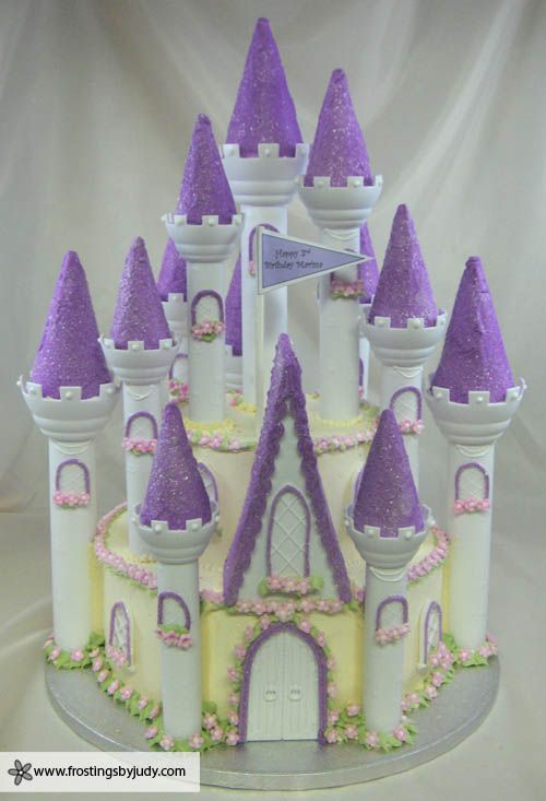 fairy castle cake glamluxepartydecor: free shipping! creative