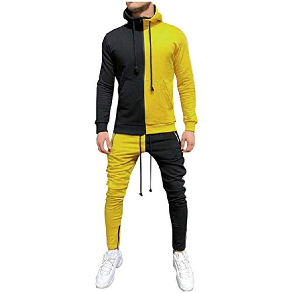 Suces Herren Jogging Anzug Manner Sweatshirt Hose Sets